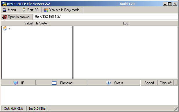 Hfs – Http File Server