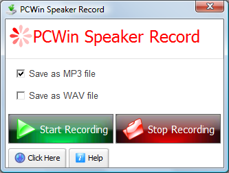 Pcwin Speaker Record – Records Everything You Hear From Your Speakers