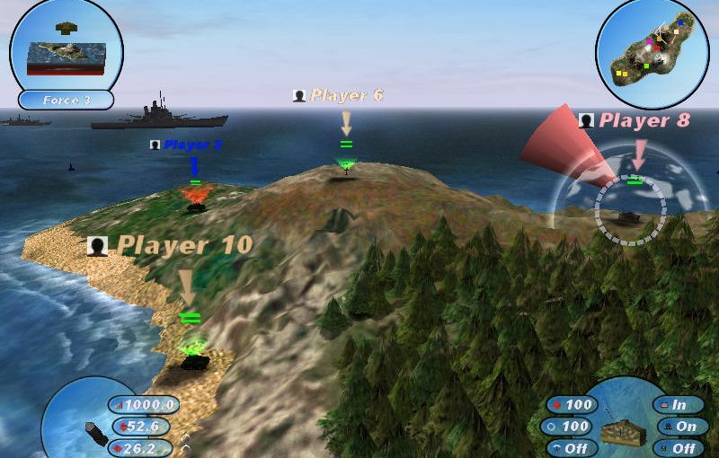 Scorched 3D – Strategy Game Like Worms With A Twist