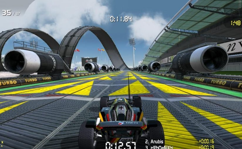 Trackmania Nations Forever – A Free Aracade Racing Game