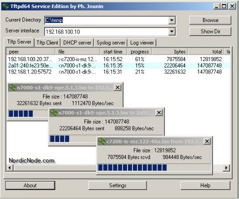 Free DHCP, DNS, TFTP Servers for Windows (Lightweight)